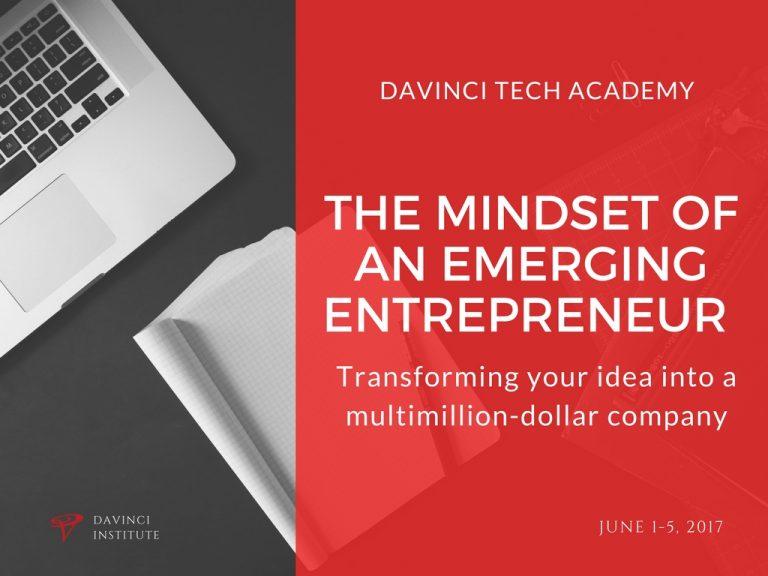 The Mindset of an Emerging Entrepreneur