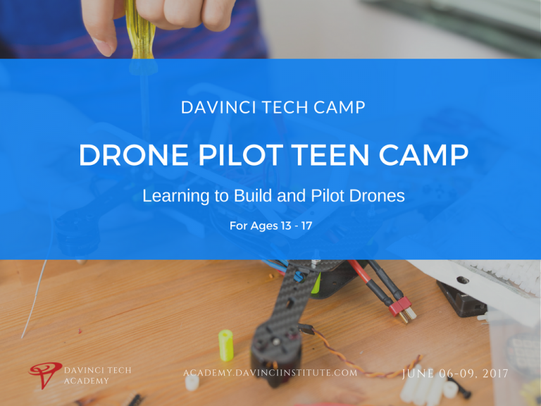 Drone Pilot Teen Camp