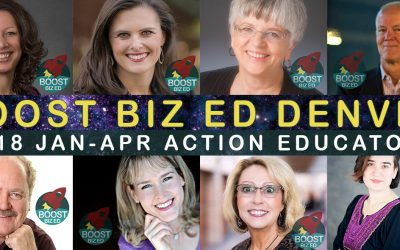 Denver: Announcing Presentations for Boost Biz Ed Denver 2018