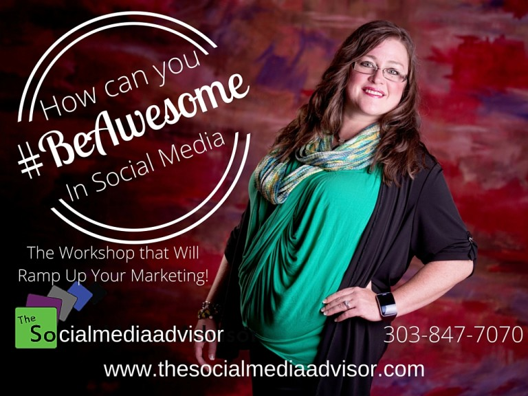 #BeAwesome in Social Media